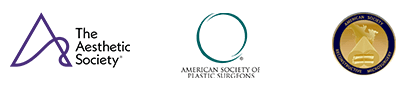 Associations: The Aesthetic Society, American Society of Plastic Surgeons, American Society of Reconstructive Microsurgery