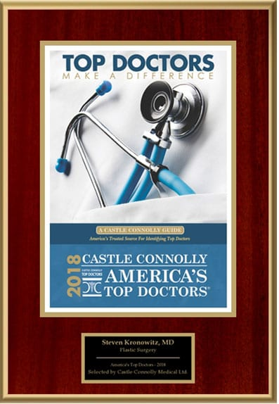 Dr. Kronowitz Awarded Top Doctors 2018 by Castle Connolly